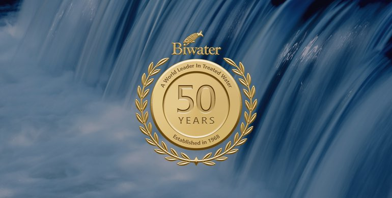 2018 marks 50 years for the Biwater Group